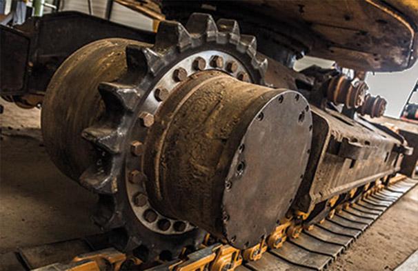 servis pásových podvozků